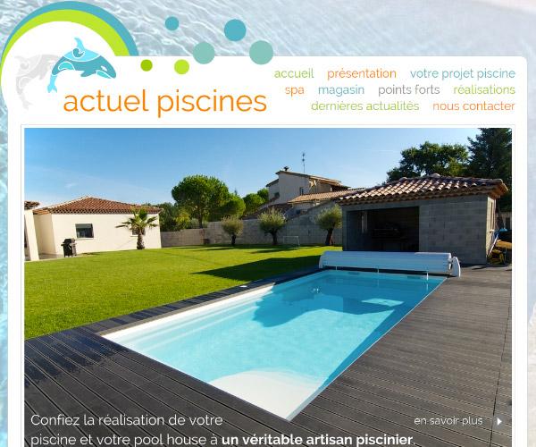 Actuel Piscines