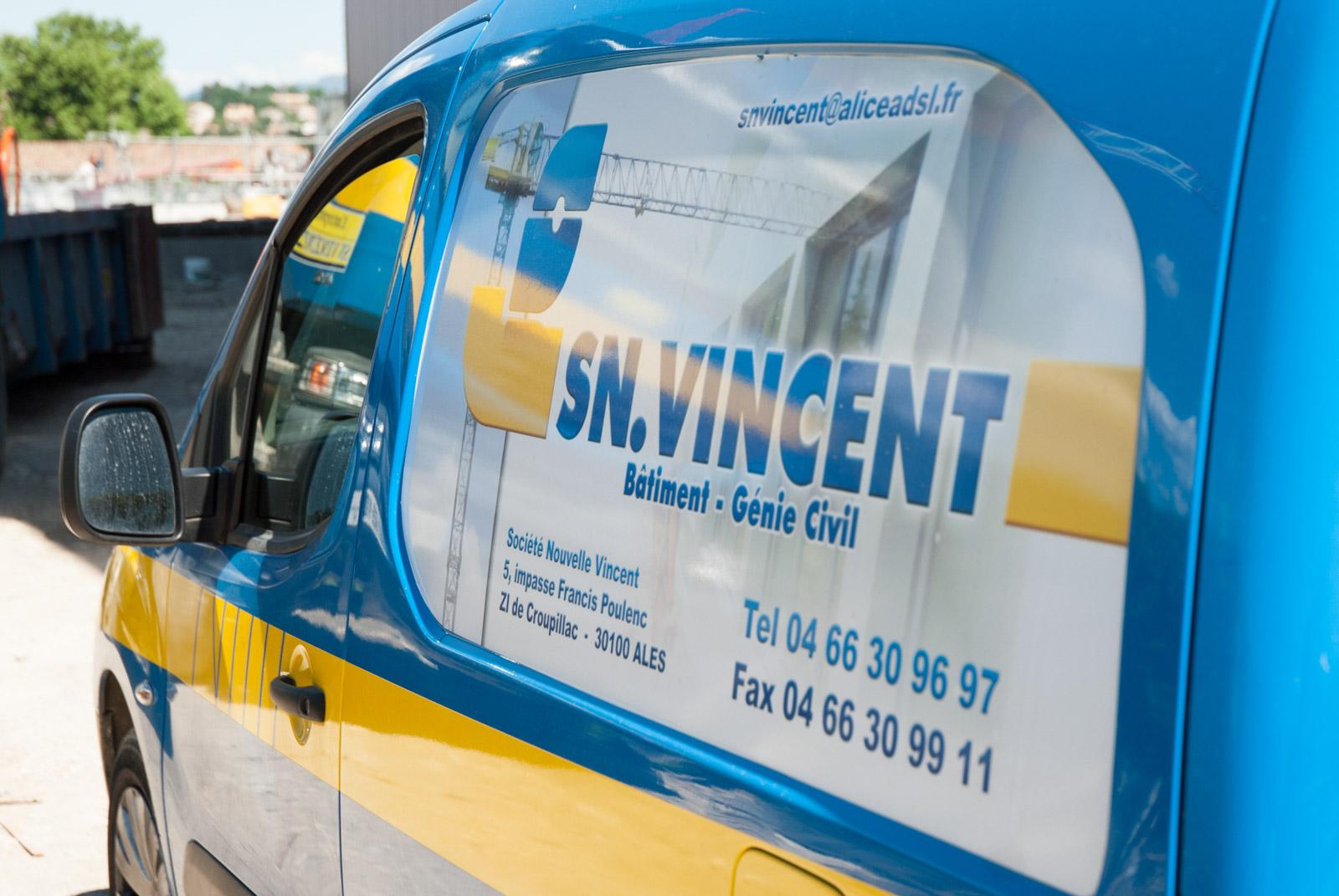 SN Vincent - Index LD création de sites internet dans le Gard et prestations de prise de vue