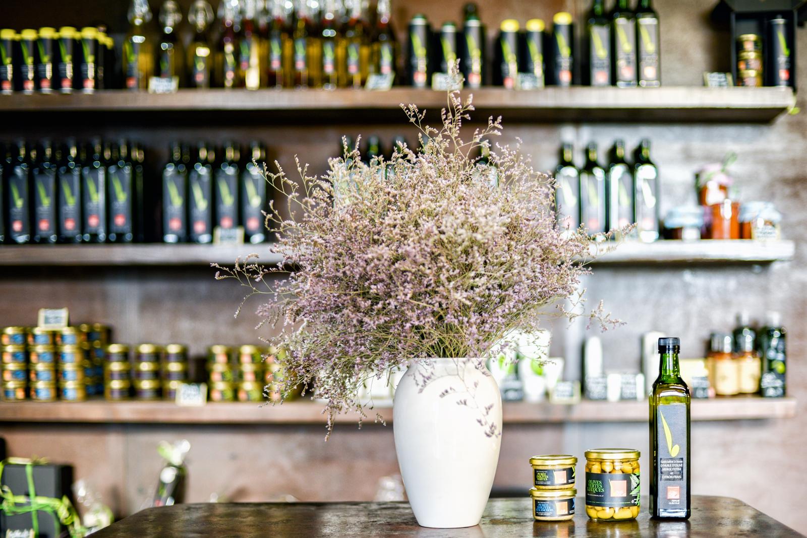 Moulin du Mas Palat, produits oléicoles (huiles d'olives, tapenades, olives de table...)