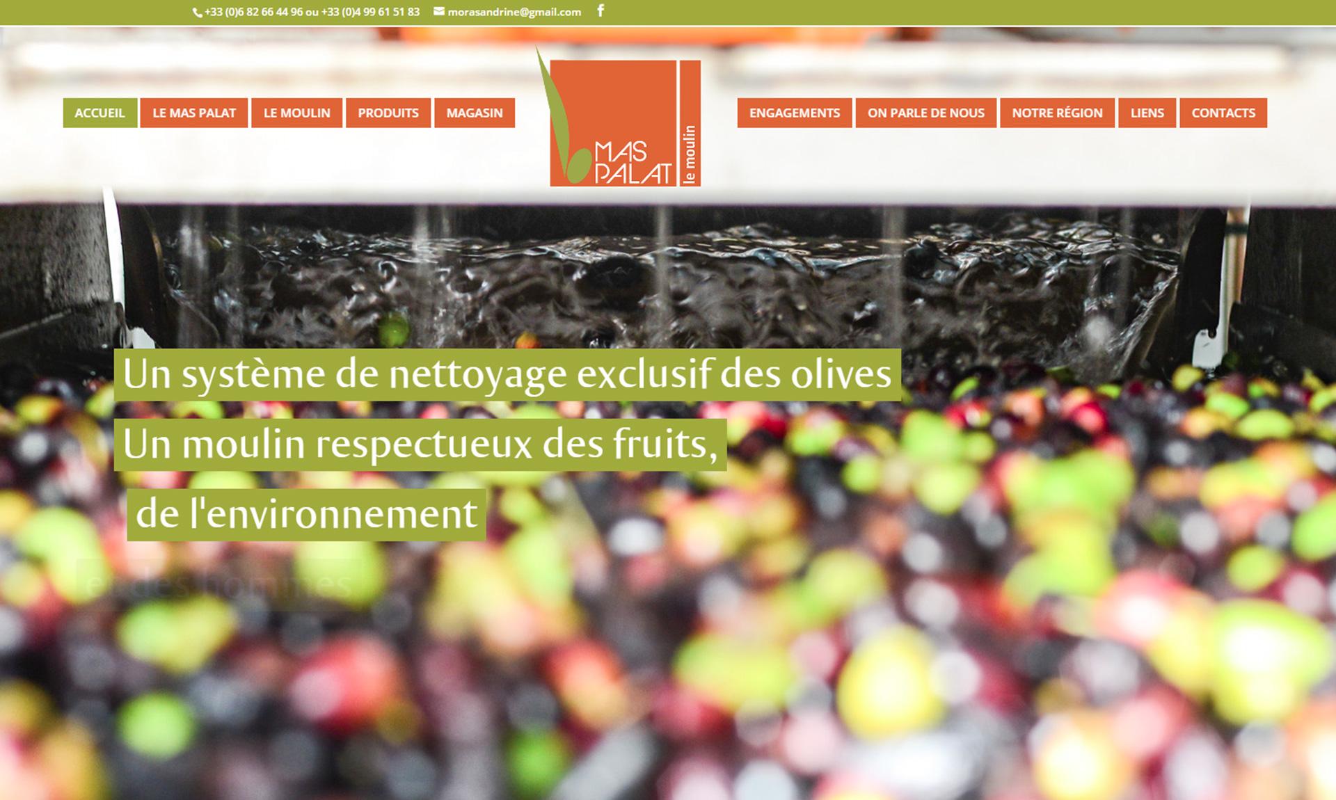 Vente en ligne d'huile d'olive, de tapenade et de produits oléicoles