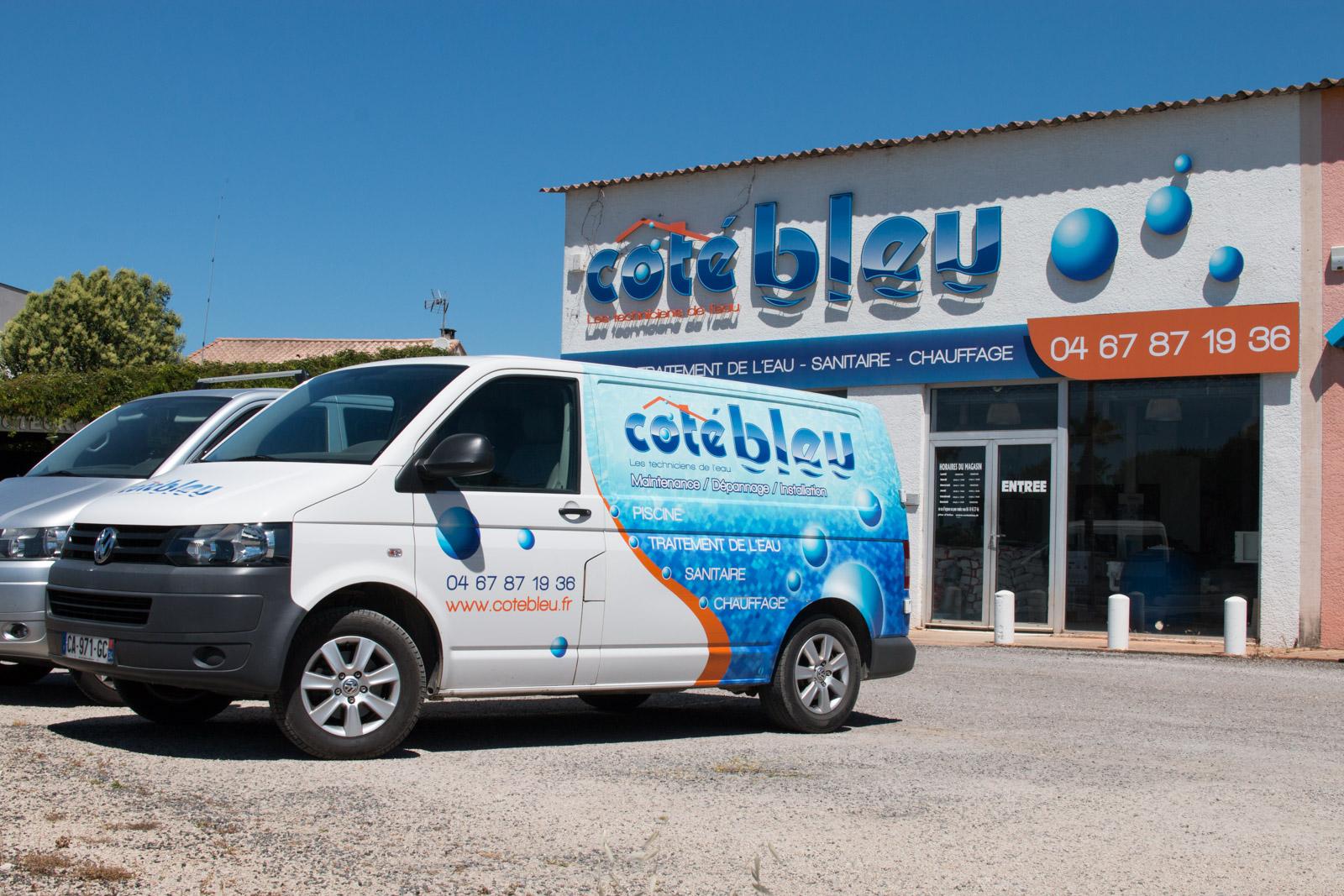 Coté Bleu, le partenaire bien-être de votre piscine sur le Gard et l'Hérault