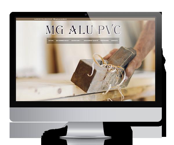Création du site internet de MG Alu Pvc