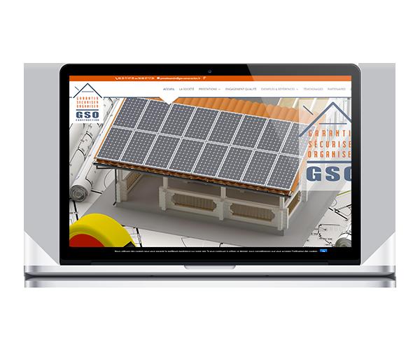 Création du site internet de GSO Construction