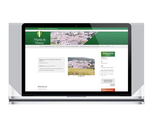 Site internet de la mairie de Monze