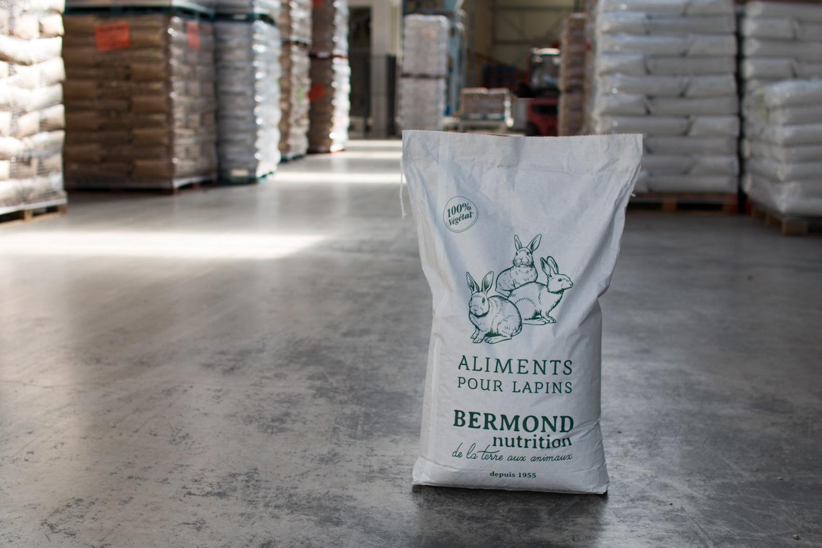 Bermond Nutrition, fabrication d'aliments pour animaux