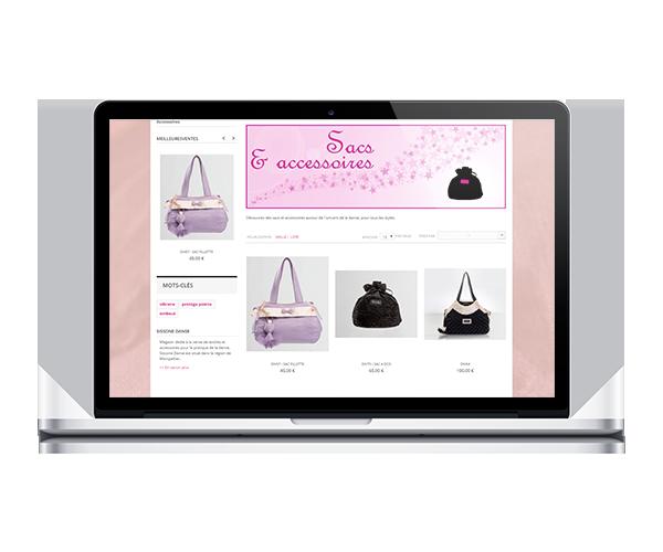 Boutique en ligne de Sissone Danse