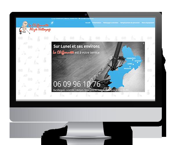 Site internet de ACE Entreprise, société de nettoyage sur l'Hérault