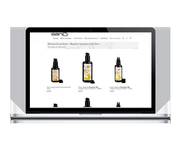 sanCoil - Vente en ligne de produits Bio, Cameline...