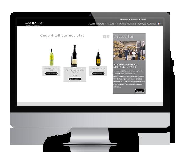 Rocca Maura - Vente en ligne de vins Bio, Côtes-du-Rhône, Lirac...