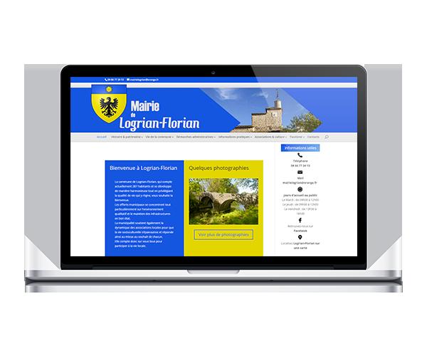 Site internet de la mairie de Logrian Florian