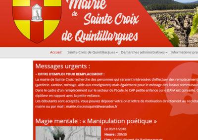 Mairie Sainte-Croix de Quintillargues