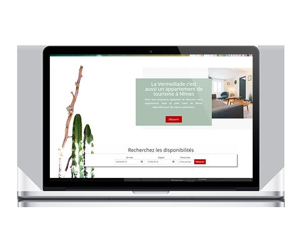Site internet de La Vermeillade