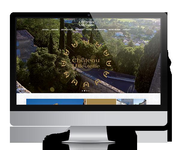 Site internet du Château de Villevieille