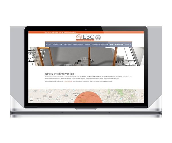 Site internet cabinet d'expertise en bâtiment sur le Gard, l'Hérault, les Bouches-du-Rhône, la Drôme et l'Ardèche - EBC Gard