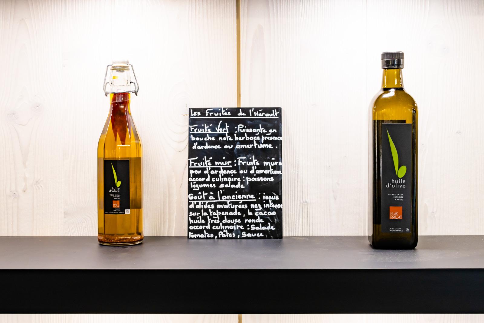 Huile d'olive du Mas Palat