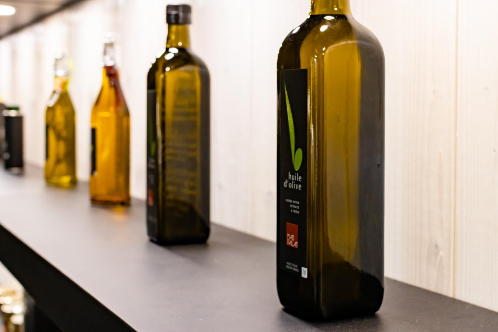 Huiles d'olive du Mas Palat