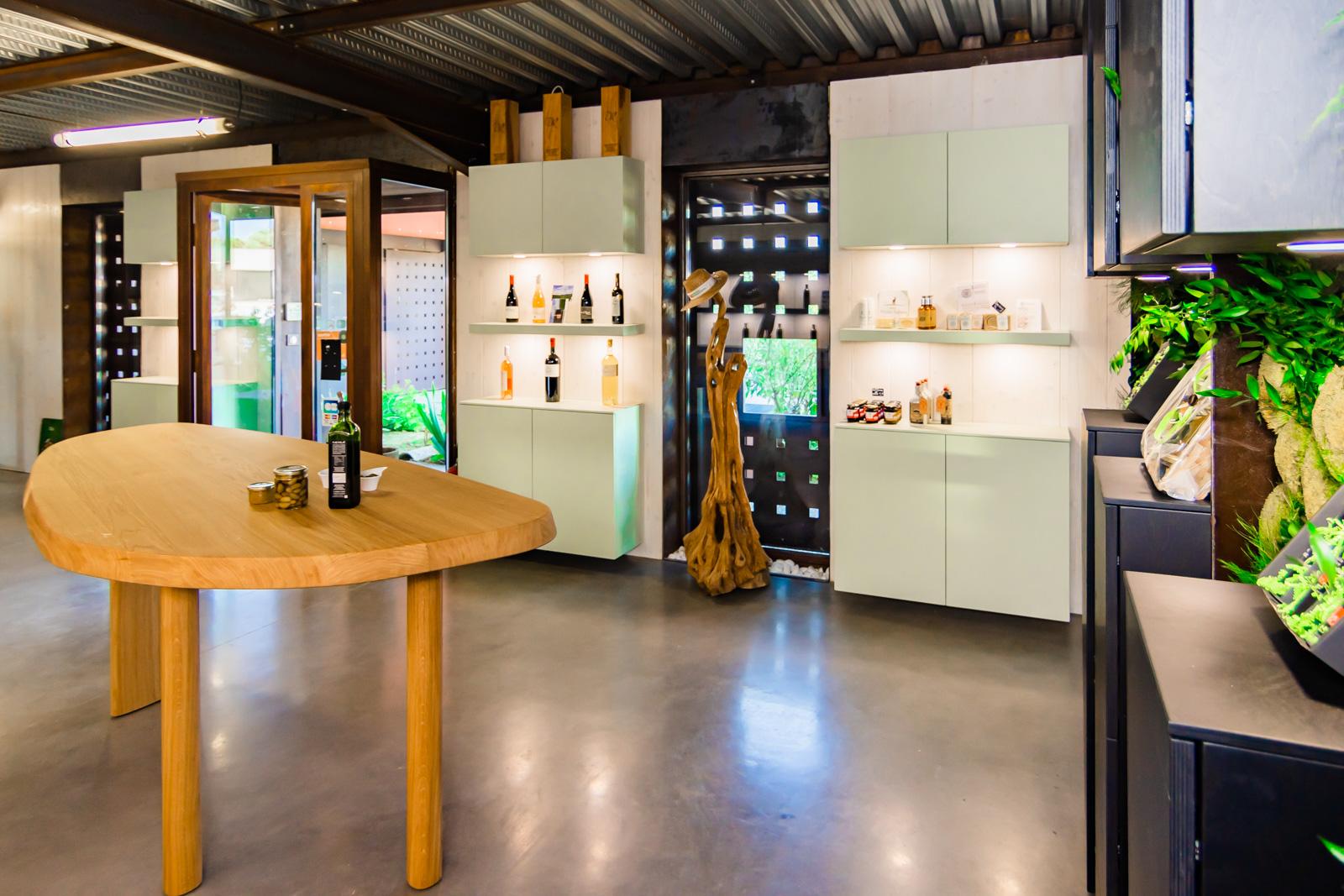 Boutique de vente d'huile d'olive et de produit du terroir à Gignac, hérault