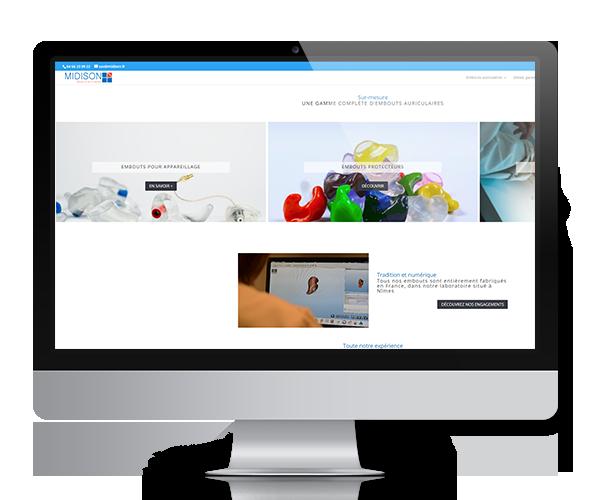 Site internet Midison