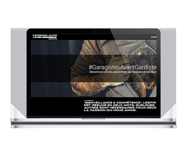 Creation site Groupe Vergnon