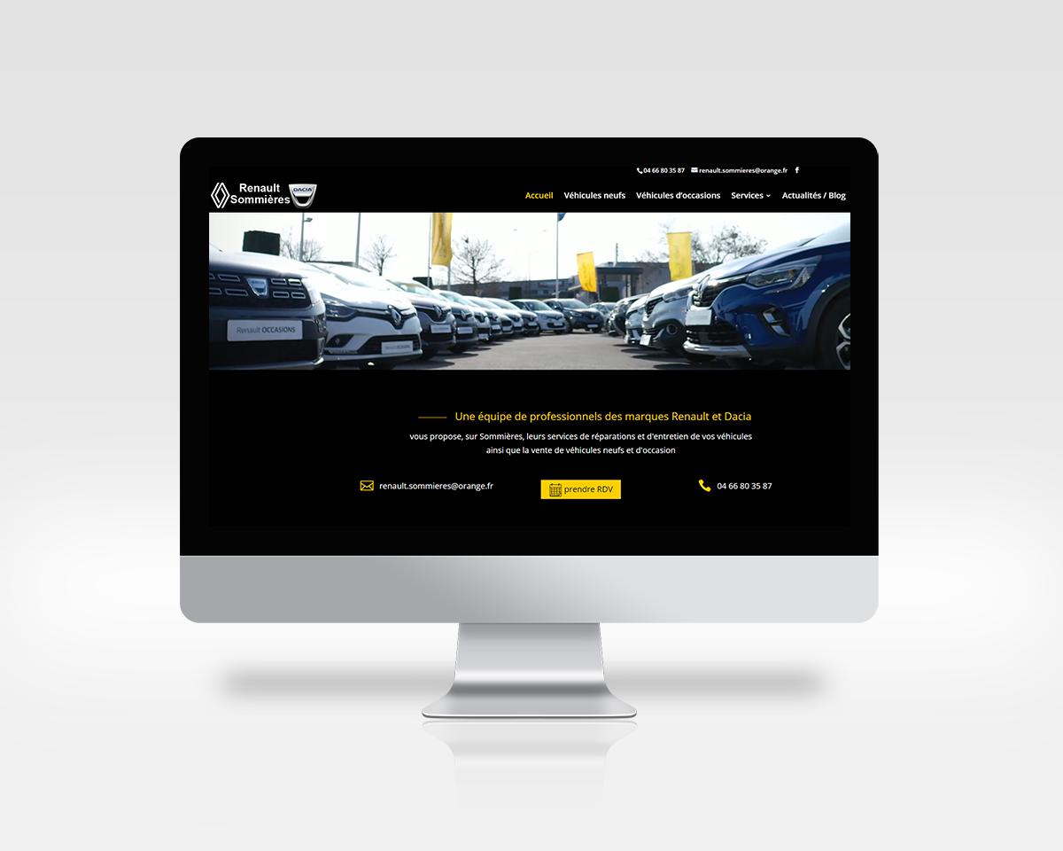Renault-Sommières page d'accueil