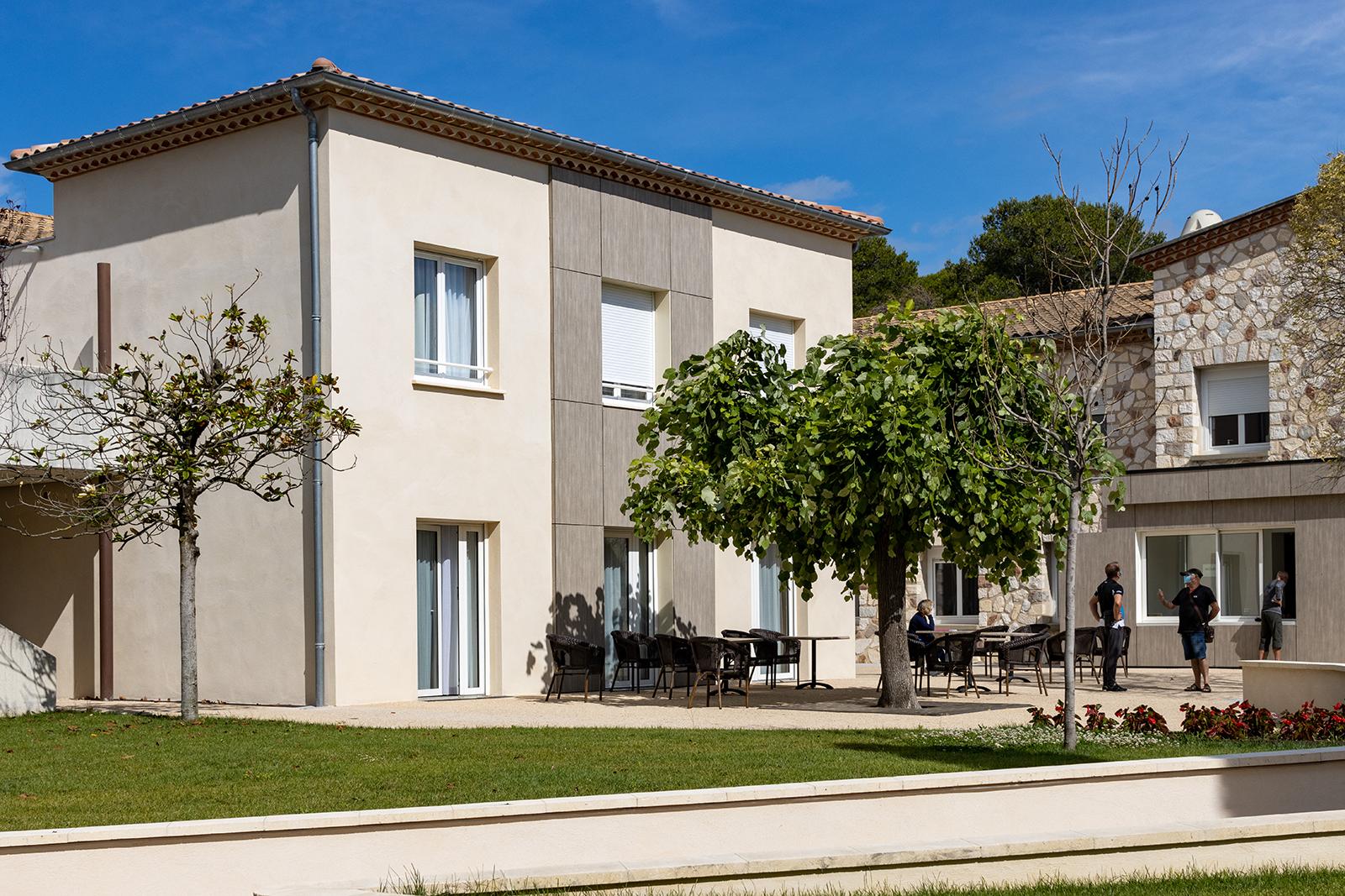 PGSL architecture - extension et réhabilitation de la maison de retraite de Saint-Privas-des-Vieux