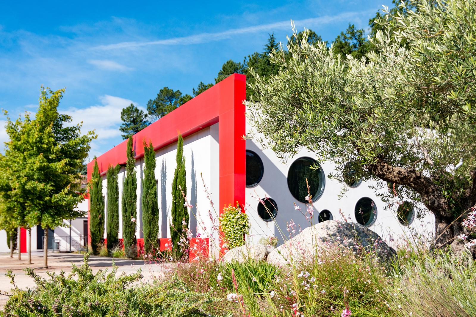 PGSL architecture - extension et réhabilitation de la salle communale de Saint-Jean-du-pin
