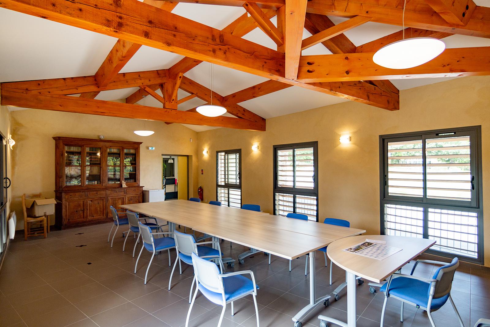 PGSL architecture - réalisation de la mairie de Servas