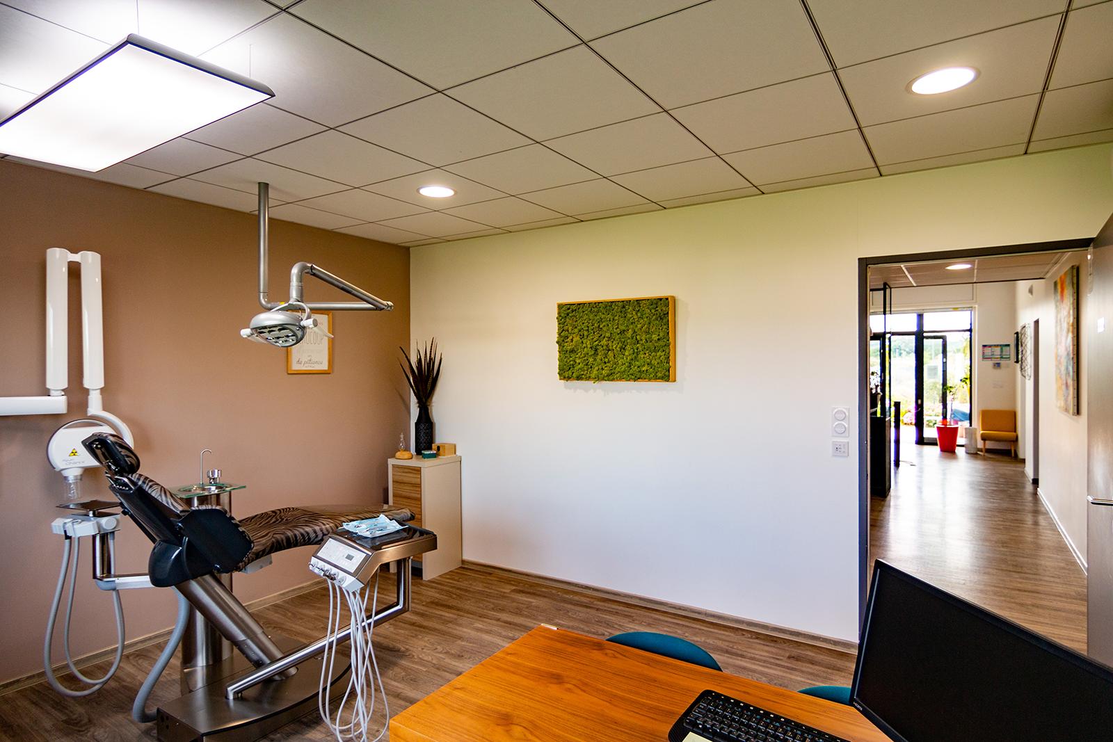 PGSL architecture - réalisation d'un cabinet de dentiste