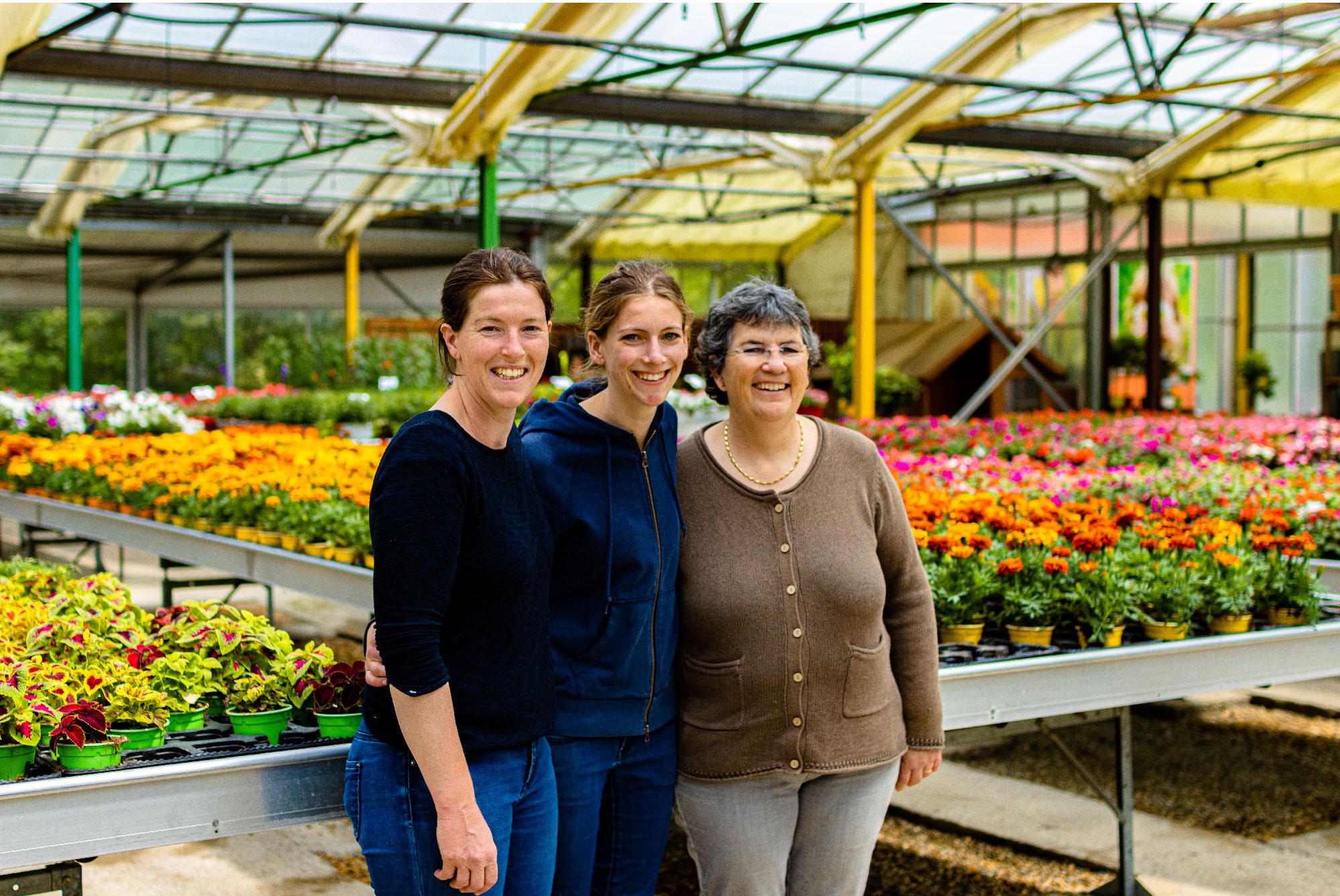 Production familiale de fleurs et de plantes dans le gard