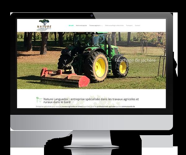 Nature Languedoc, entreprise spécialisée dans les travaux agricoles et ruraux